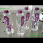 Fixed Positioning labeling machine  étiqueteuse automatique water bottle labeler for india client