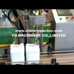 automatic capping machines with cap feeding system lid cover tightening machine