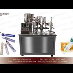 aluminum tube filling and folding machine for Hotel toothpaste|YQ MACHINERY metal tube filler