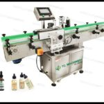 30ml Dropper glass bottle wrap around labeling machine for Hemp Oil manufacturers