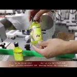 Automatic wrap around labeling machine for oval bottles|plastic & glass bottle label applicators