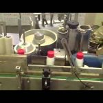 PET bottle paste labeling machine manufacturer with photo cell automatic wet glue labeler system