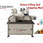 how to use rotary filling and capping machine with Peristaltic pump metering system