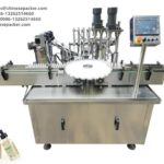 30ml Electronic Cigarette Liquid filling machine peristaltic pump rotary filler screw capping system