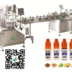 gorilla bottle filling machine feed table filler capper accumulation table for Malaysian customer