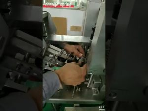 how to adjust capping machine